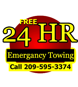 Image of Free Modesto Towing Banner